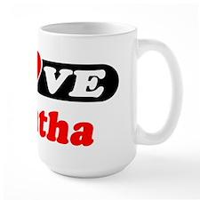 I Love Tabatha Mug