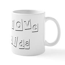 I Love Alda Mug