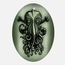 cthulhu-pir2-OV Oval Ornament