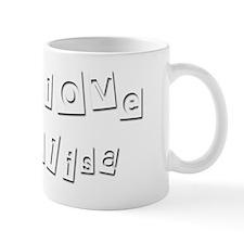 I Love Alisa Mug