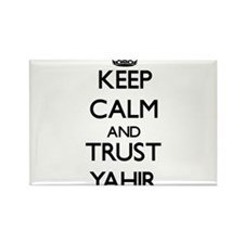 Keep Calm and TRUST Yahir Magnets