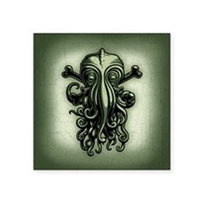 "cthulhu-pir2-BUT Square Sticker 3"" x 3"""