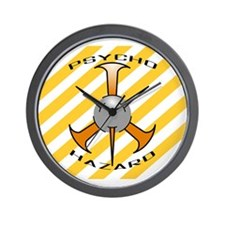 Psycho Hazard Wall Clock