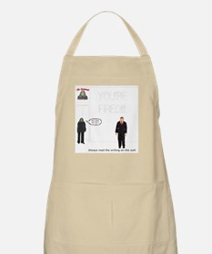The Writing on the Wall BBQ Apron
