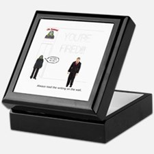 The Writing on the Wall Keepsake Box