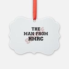 THE MAN FROM HMRC - TAX MAN Ornament