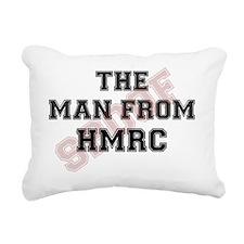 THE MAN FROM HMRC - TAX  Rectangular Canvas Pillow
