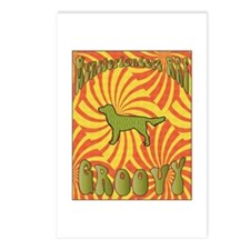 Groovy Moonsters Postcards (Package of 8)