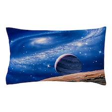 Ring galaxy Pillow Case