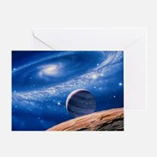 Ring galaxy Greeting Card
