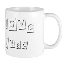 I Love Alysa Small Mug