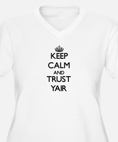 Keep Calm and TRUST Yair Plus Size T-Shirt