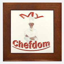 My Chefdom Framed Tile