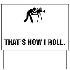 Cameraman-ABG1 Yard Sign