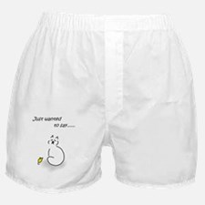 Just wanted to say...Im sorry Boxer Shorts