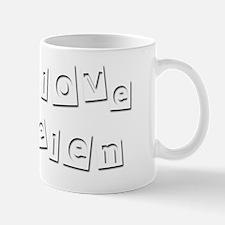 I Love Belen Mug