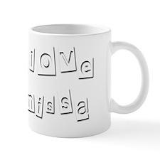 I Love Anissa Mug