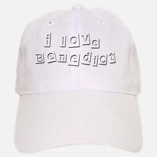 I Love Benedict Baseball Baseball Cap