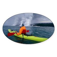 Sea kayaking, Hawaii Decal