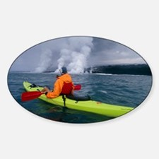 Sea kayaking, Hawaii Decal