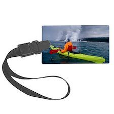 Sea kayaking, Hawaii Luggage Tag