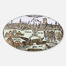 Plague in London, 1625 Decal