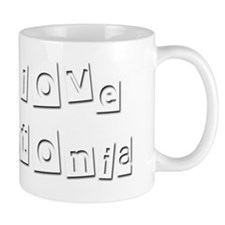 I Love Antonia Mug