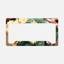 Aylostera 'Apricot Ice' License Plate Holder