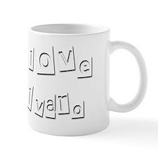 I Love Alvaro Mug