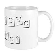 I Love Bret Small Mug