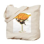 Cocktail Cat & Martini Glass Halloween Candy Bag
