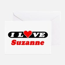 I Love Suzanne Greeting Cards (Pk of 10)