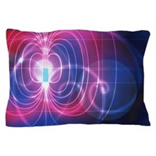 Magnetic field Pillow Case