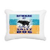 Salty dog Rectangle Canvas Pillows