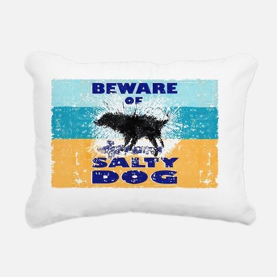 Salty Dog Notes Rectangular Canvas Pillow