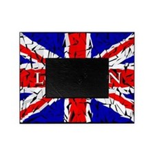 London - Union Jack (glass cutting b Picture Frame