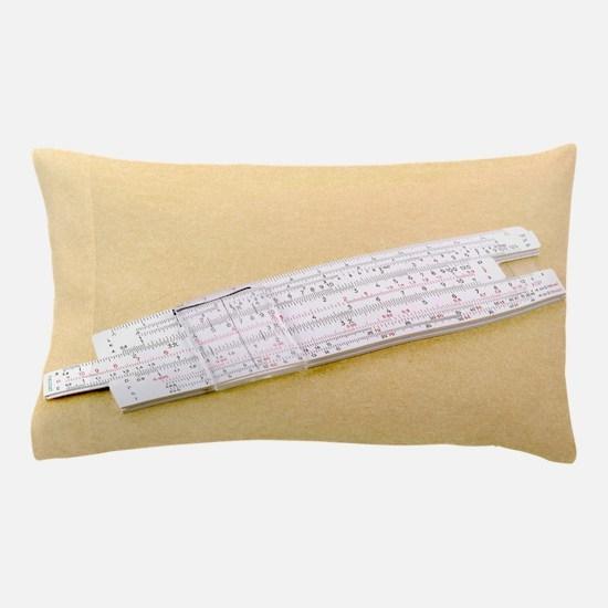 Logarithmic slide rule Pillow Case