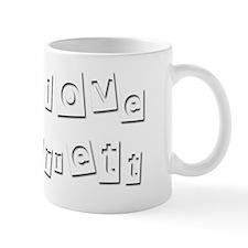 I Love Barrett Mug