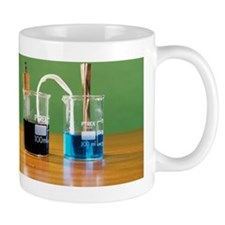 Manganese and copper voltaic cell Mug