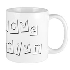 I Love Carolyn Mug