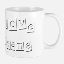 I Love Breana Mug