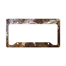 Penicillium spores License Plate Holder