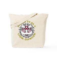 Hok San Lion Dance Tote Bag