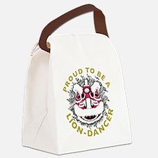 Hok San Lion Dance Canvas Lunch Bag