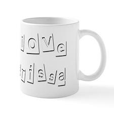 I Love Carissa Mug