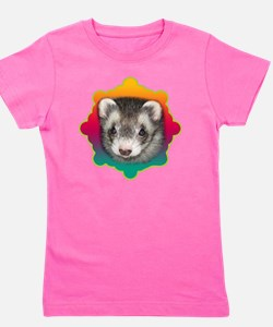 Ferret Sable Girl's Tee