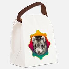 Ferret Sable Canvas Lunch Bag
