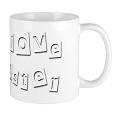 I Love Buster Mug