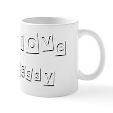I Love Cassy Mug