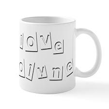 I Love Carolyne Mug